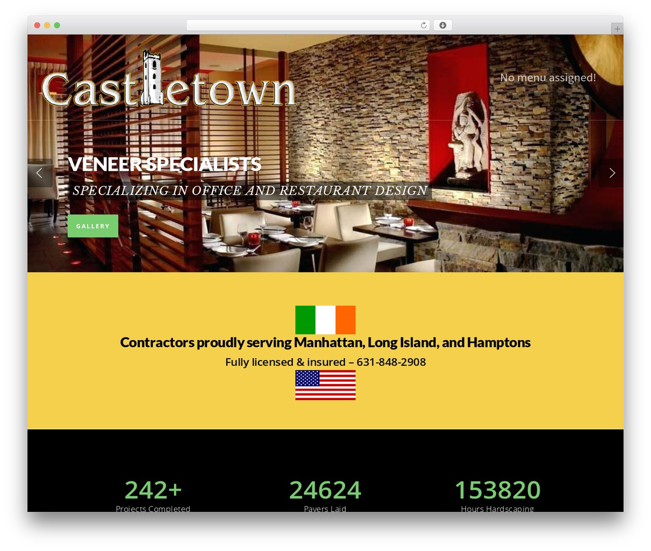 Salient WP theme - castletown.us