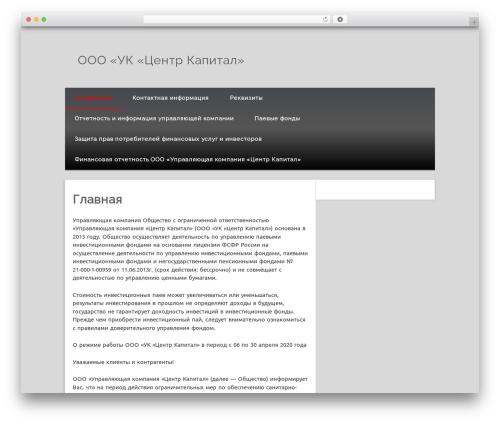 Theme WordPress Isquar - capital-center2013.ru