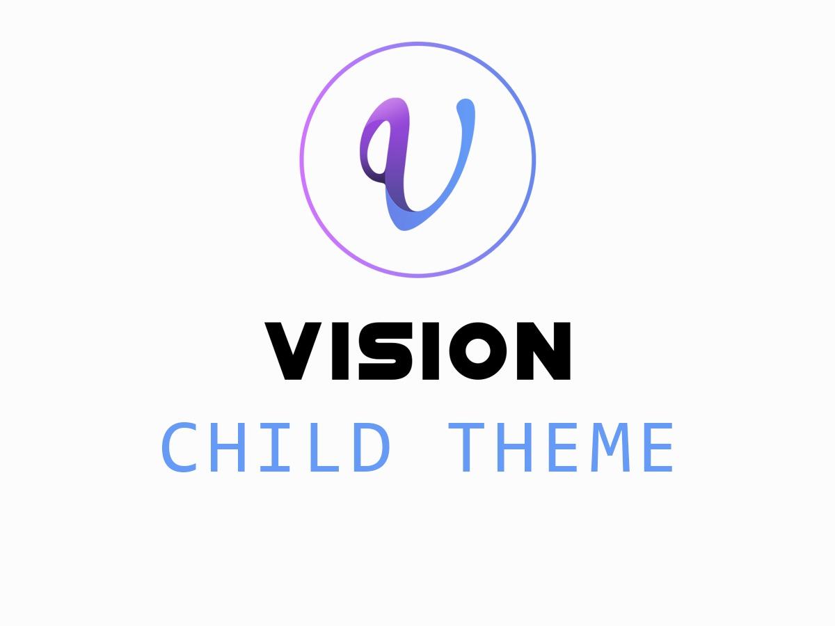 vision-church WordPress theme design