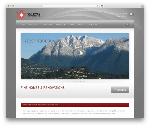 Awake top WordPress theme - can-swiss.com