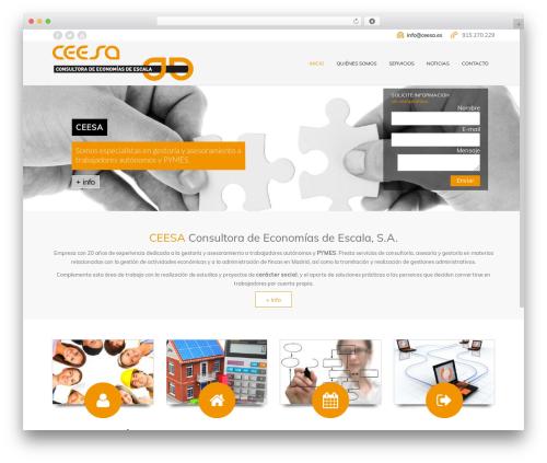 Subway WordPress theme - ceesa.es