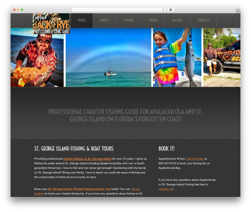 theme1862 top WordPress theme - captjacksguideservice.com