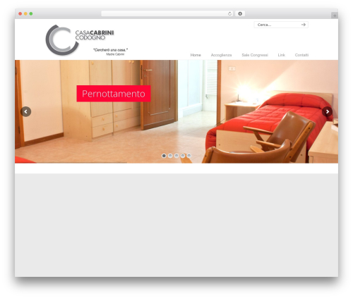 WP template U-Design - casacabrini.it