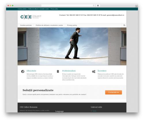 WP theme Modernize - ceecollect.ro/ro/acasa