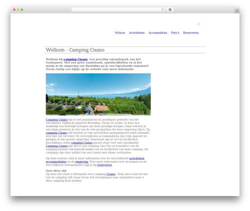 Best WordPress theme Bamboo - camping-cisano.nl