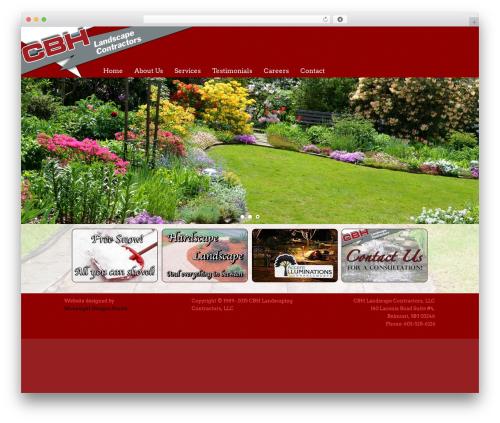 Catalyst WordPress theme - cbhlandscape.com