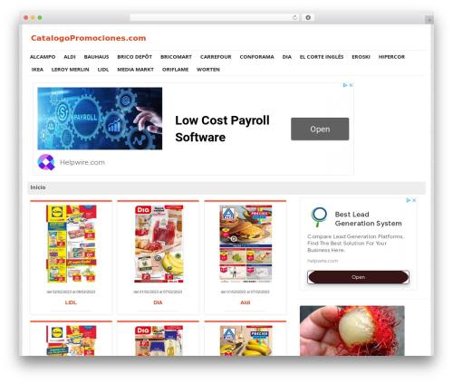 WordPress post-grid-list plugin - catalogopromociones.com
