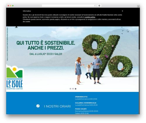 Theme WordPress Betheme - centroleisole.it