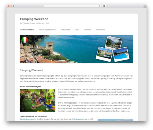 Free WordPress YouTube plugin - camping-weekend.nl