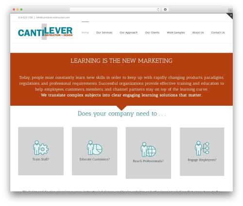 WordPress theme Avada - cantilever-instruction.com