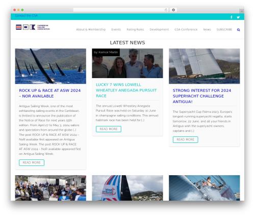 WordPress theme EcoWaste Wordpress Theme - caribbean-sailing.com