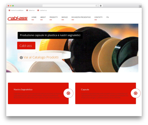 Arkitekt WordPress website template - cablass.com