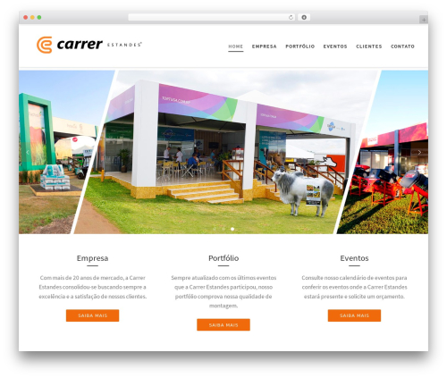 Customizr WordPress theme - carrerestandes.com.br