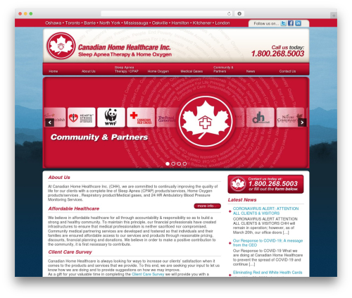 DT Theme best WordPress theme - canadianhealthcaresystems.ca