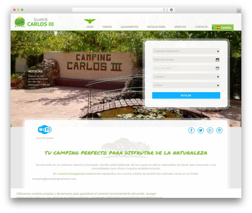 WordPress sitepress-multilingual-cms plugin - campingcarlosiii.com