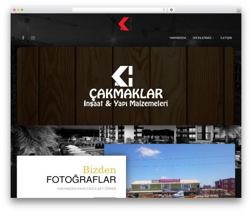 Restau Lite WordPress template free download - cakmaklarinsaat.net