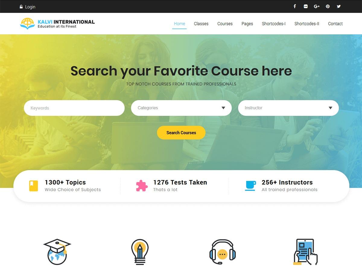 Theme WordPress Kalvi