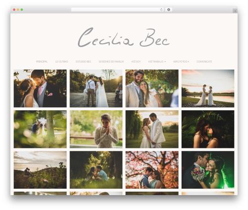 WordPress theme Bokeh Pro 2 - ceciliabec.com