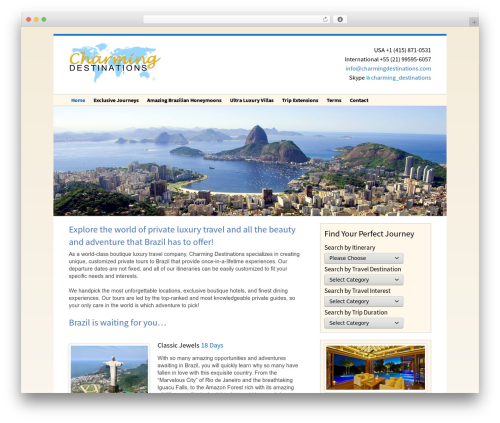 Free WordPress WP-SWFObject plugin - charmingdestinations.com