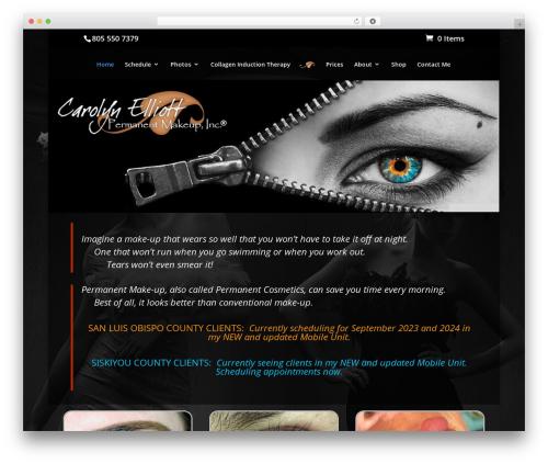 B2G Child Theme - Carolyn Elliott theme WordPress - carolyn-elliott.com