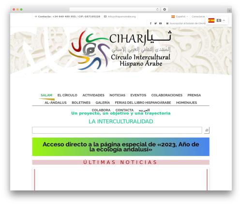 Free WordPress Polylang plugin - cihispanoarabe.org/hola
