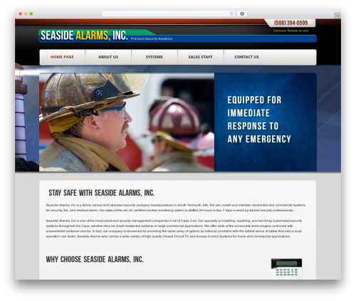 BLANK Theme WordPress theme - capecodsecuritysystems.com