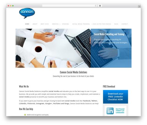 Impero Premium premium WordPress theme - cannonsocialmediasolutions.com