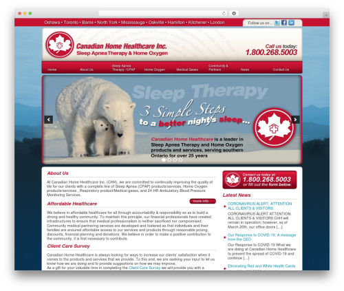 Theme WordPress DT Theme - canadianhealthcareservices.ca