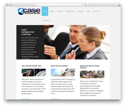 WordPress theme Executive Pro Theme - caseinteractive.org