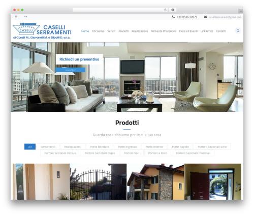 Best WordPress theme Jomelle - caselliserramenti.it
