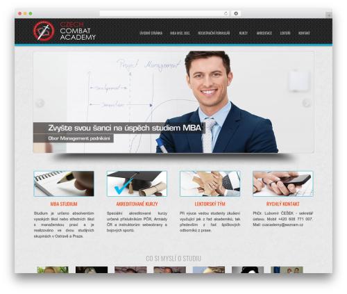 D5 Business Line Extend company WordPress theme - ccac.cz