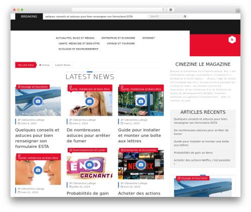 Template WordPress Epira Lite - cinezime.fr