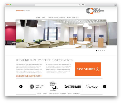 Theme WordPress Hyperion - cityofficeinteriors.co.uk