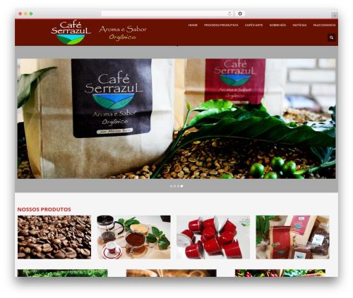 WordPress template Kallyas - cafeserrazul.com.br