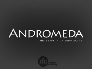 Andromeda WordPress portfolio template