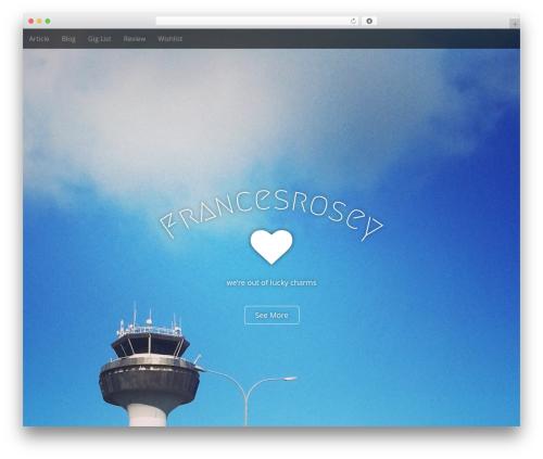 Arcade Basic theme WordPress free - francesrosey.googlehax.com