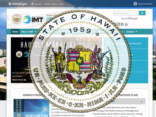 Best WordPress theme State of Hawaii Template