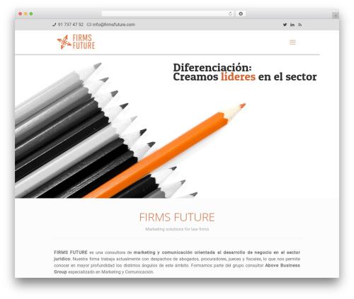 Betheme WordPress theme - firmsfuture.com