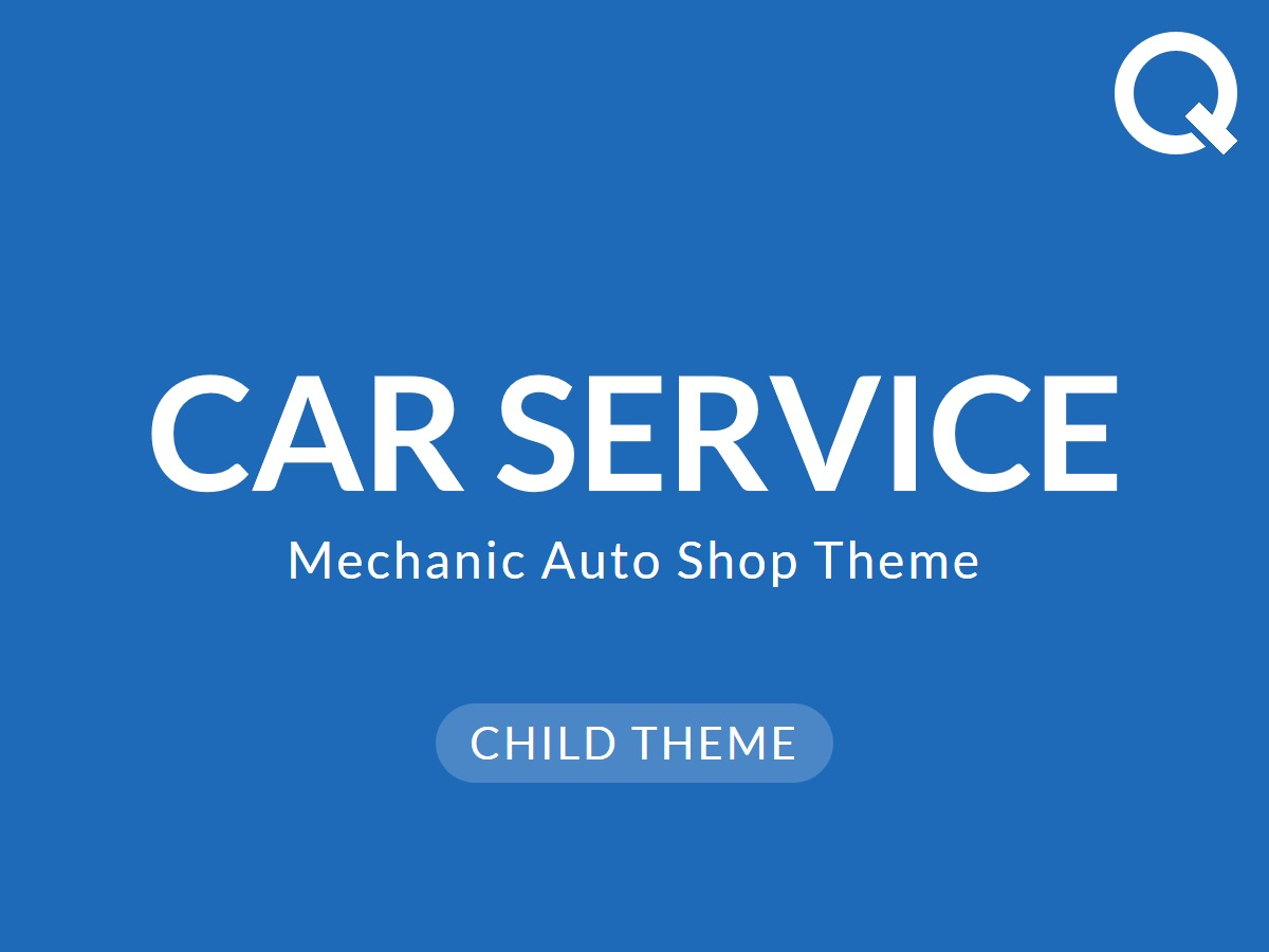 Carservice Child WordPress website template