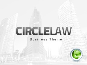 CircleLaw WordPress template for business
