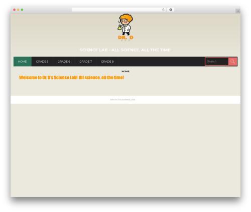CoolStuff premium WordPress theme - thenullhypothesis.ca