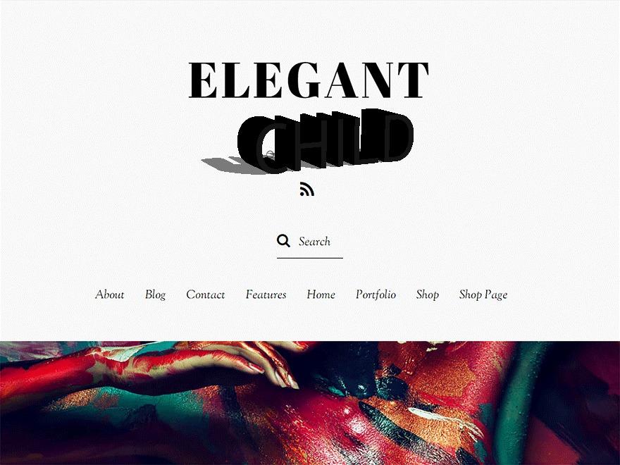 Elegant Child WordPress theme