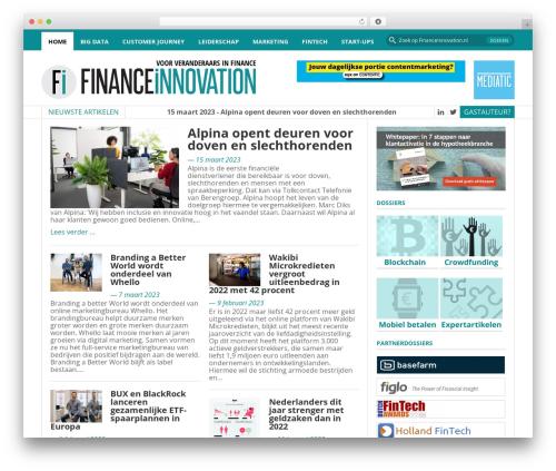 FastNews WordPress news theme - financeinnovation.nl