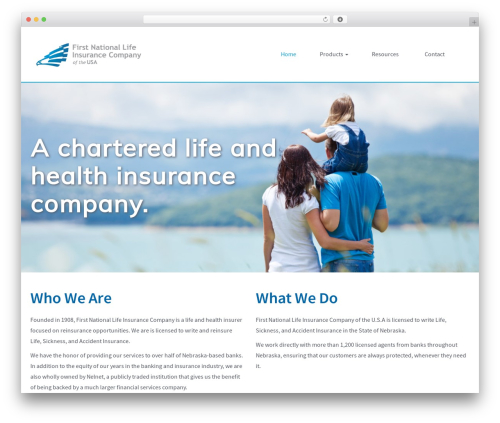 First National Template WordPress theme - fnlusa.com