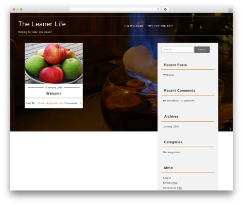 Food recipes theme wordpress free by fasterthemes page 3 food recipes theme free download theleanerlife forumfinder Choice Image