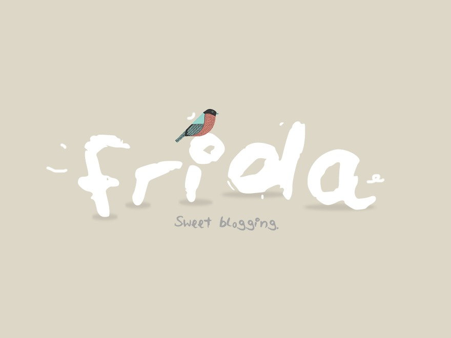 Frida WordPress blog template