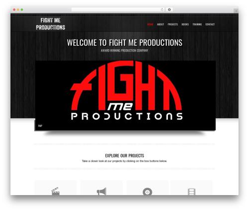 Goodways best WordPress theme - fightmeproductions.com