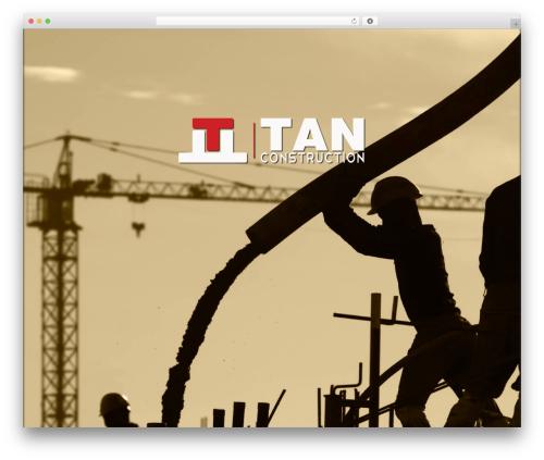 NineZeroSeven template WordPress - tan-construction.com