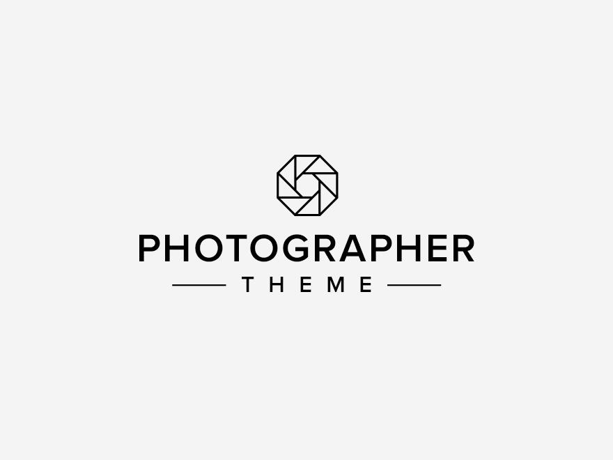 Organic Photographer WordPress template for photographers