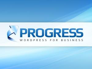 Progress Child Theme WordPress page template